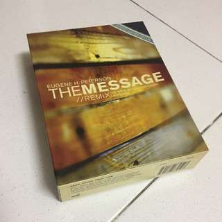 The MESSAGE Bible, bonded leather