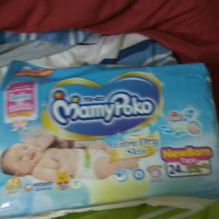 MamyPoko new born tape diapers