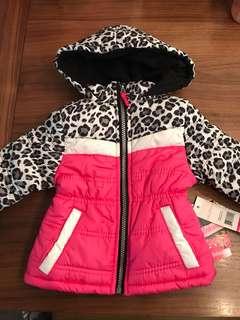 Brand new baby girl 12-month ski jacket