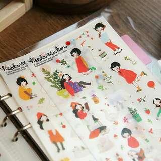 Korean bullet Journal Sticker