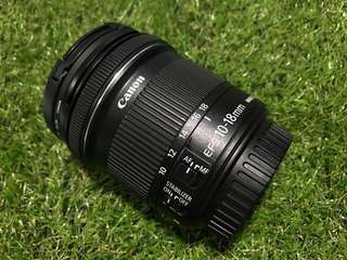 CANON EFS 10-18mm IS