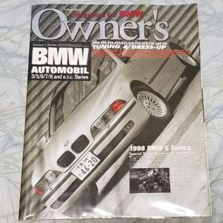 bmw automobil tatsumi mook owner's series bimmer bmwsg tuning dress-up diy maintenance parts performance technical e39 e38 e30 e24 e34 z3 e28 e36