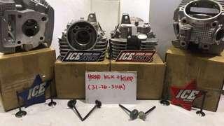 Head klx 150+ klep 31/26/5mm
