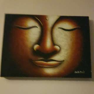 Buddha canvas painting