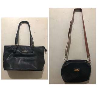 (REPRICED) Secosana Bag + 1 Sling Bag