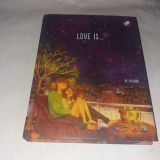 Love is . Buku bypuung