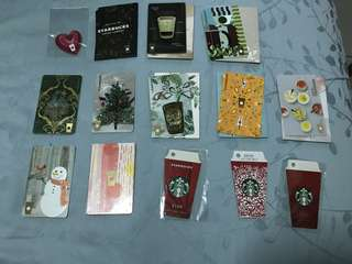 Clearance sales Starbucks China cards