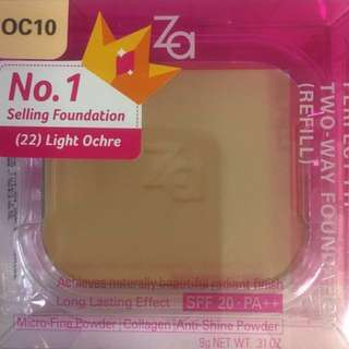 Za perfect fit two way foundation refill