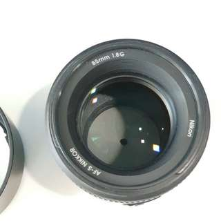 Nikon 85MM F1.8G mint condition