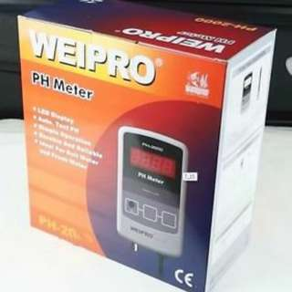 Weipro PH Meter 水族酸鹼度監察器