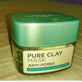 LOREAL ANTI-PORES CLAY MASK