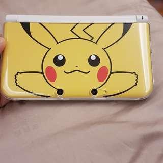 Used Nintendo 3DS XL Pikachu Edition