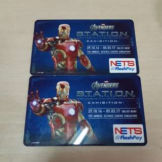 Limited Edition Avengers Ezlink Card