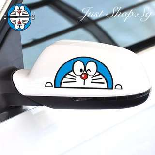 Doraemon Car Side Mirror Sticker / Decal
