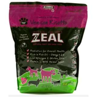 CLEARANCE SALES Zeal Soft Dry Kibbles Dog Food 3kg as low as $35 per pack
