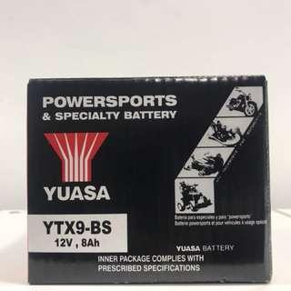 Honda Super 4 Motorcycle Battery Yuasa YTX9-BS