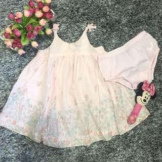Baby Gap dress with undies