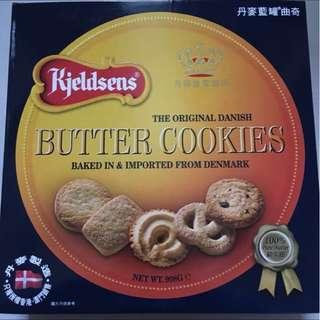 丹麥藍罐曲奇the original danish butter cookies 908g 新年送禮首選