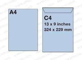White Envelope C4 (229 x 329mm) Peel & Seal 250pcs/box