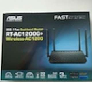 ASUS RT-AC 1200G+ WIRELESS - AC 1200 DUAL BAND ROUTER