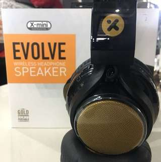 Evolve wireless headphone cum speaker