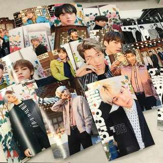 WTS BTS BILLBOARD MAGAZINE AND POSTER FULL SET INCOMING STOCK
