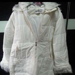 BN white fur long Winter Jacket