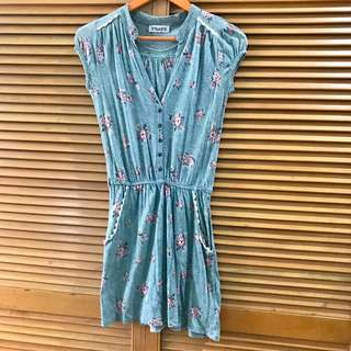 Green Pull & Bear casual Dress