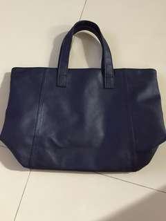Hand bag navy