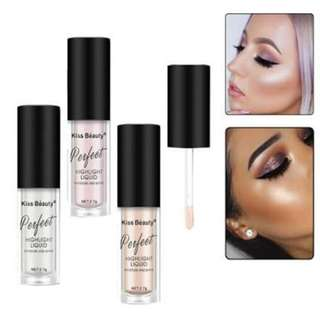 3 Colors Liquid Highlighter by Kiss Beauty