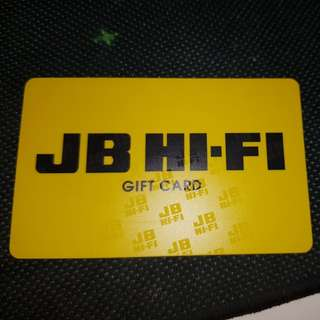 $100 gift card jbhifi