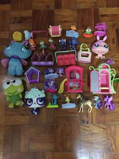 Take all 🙂assorted toys all original