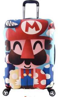 Luggage cover / protector Mario and Luigi