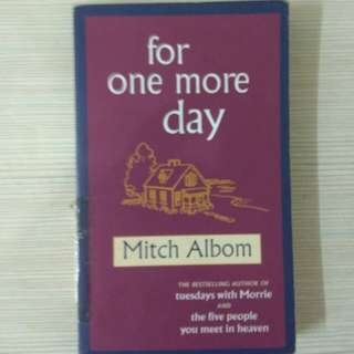 book 書 小說 For One More Day