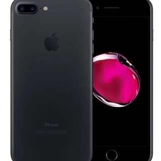 condition new spare phone iphone 7 plus black 128 gb