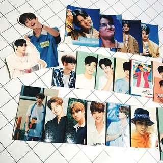 Stickers!  Bae Jinyoung ,  GuanLin & SeongWoo Wanna One