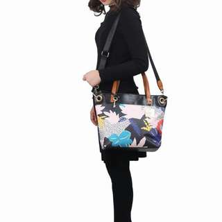 FOSSIL  Keely Tote Floral Multicolour 816#