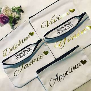 Personalise Name Pouch