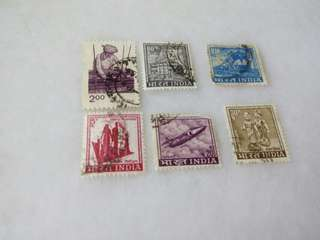 India Stamps #M107
