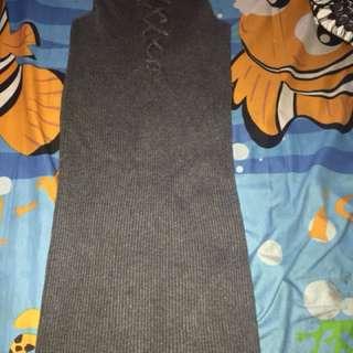 Sexy grey dress