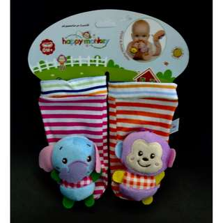 Happy Monkey Baby Foot Finders