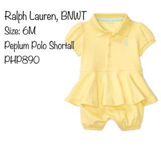 Peplum Polo Shortall