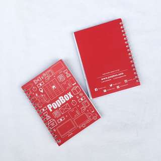 Pop Box Note Book