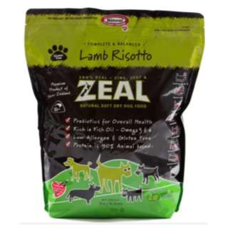 CLEARANCE SALES ZEAL SOFT DRY KIBBLES DOG FOOD 3kg AS LOW AS $30 PER PACK
