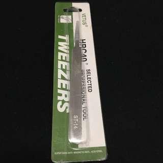 Tweezer for eyelash extension - Vetus ST14
