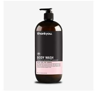Thank you co body wash 1L