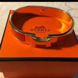 Hermes H Clic bangle bracelet jewellery