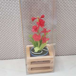Small fake plant for decor