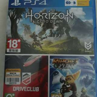 Horizon Zero Dawn and Drive club