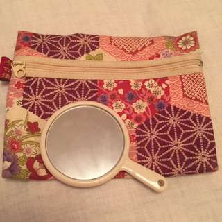 Japanese purse with Mirror